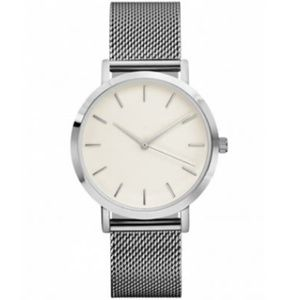 NEW Classic Crystal Stainless Steel Quartz Watch